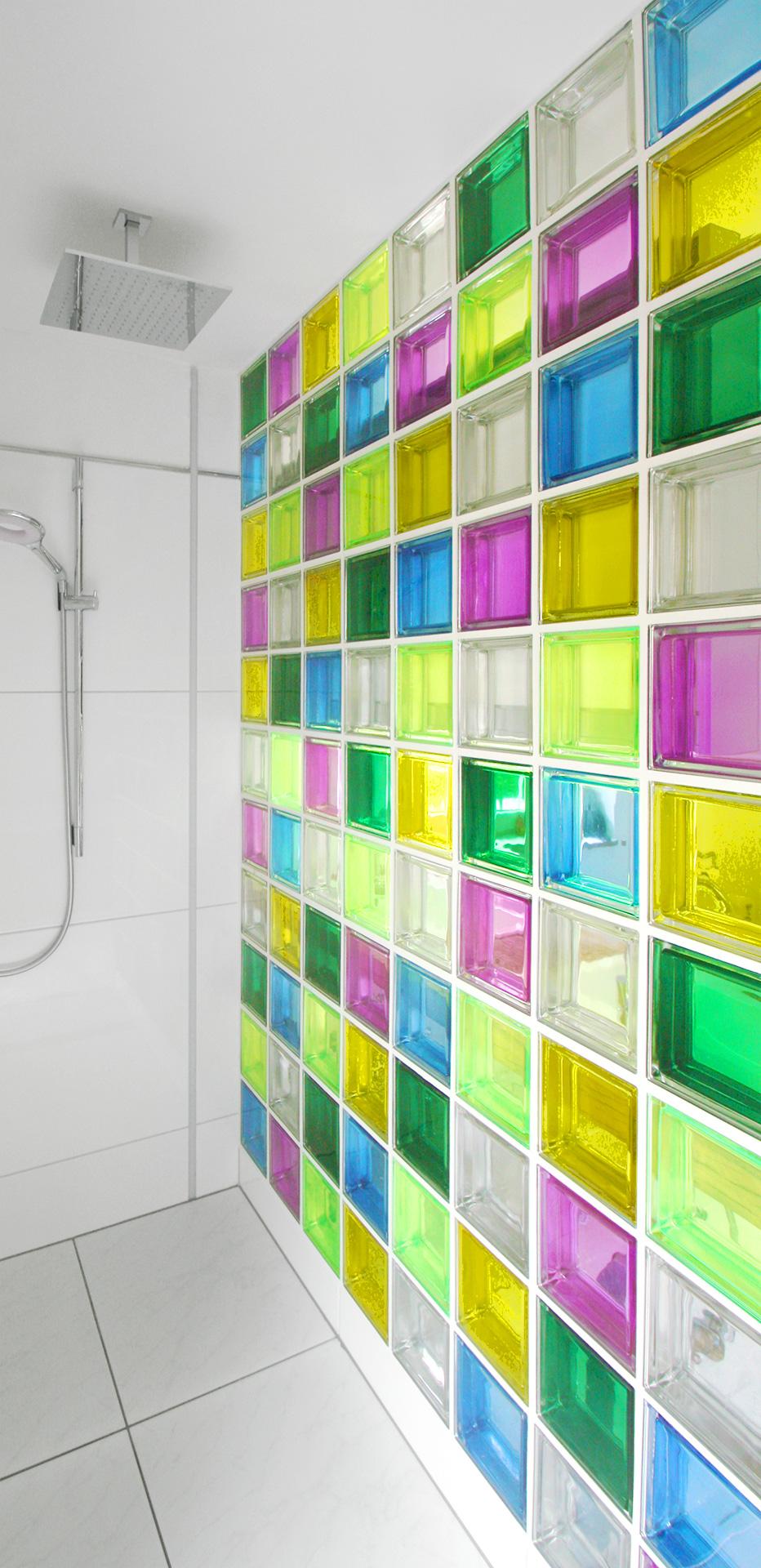 duschwand mendini - Dusche Mauern Glasbausteine
